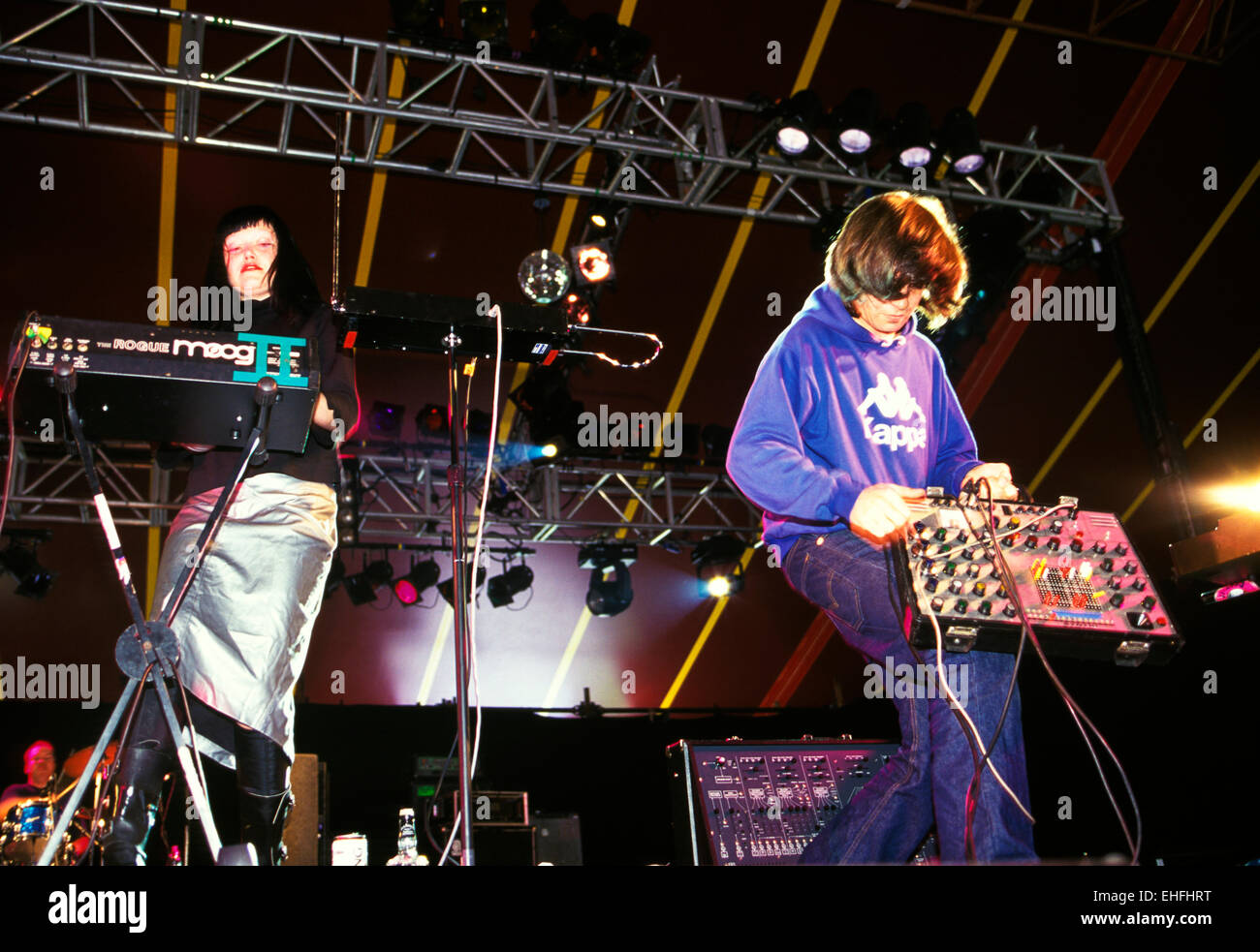 Add N to (X) live at Reading Festival. - Stock Image