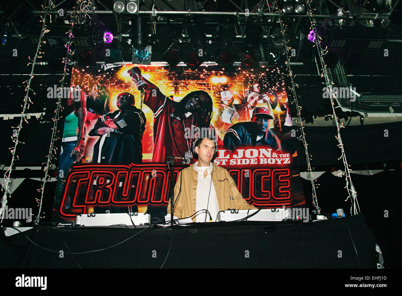 Tim Westwood DJing at Crunk Juice The Carling Academy Islington. - Stock Image