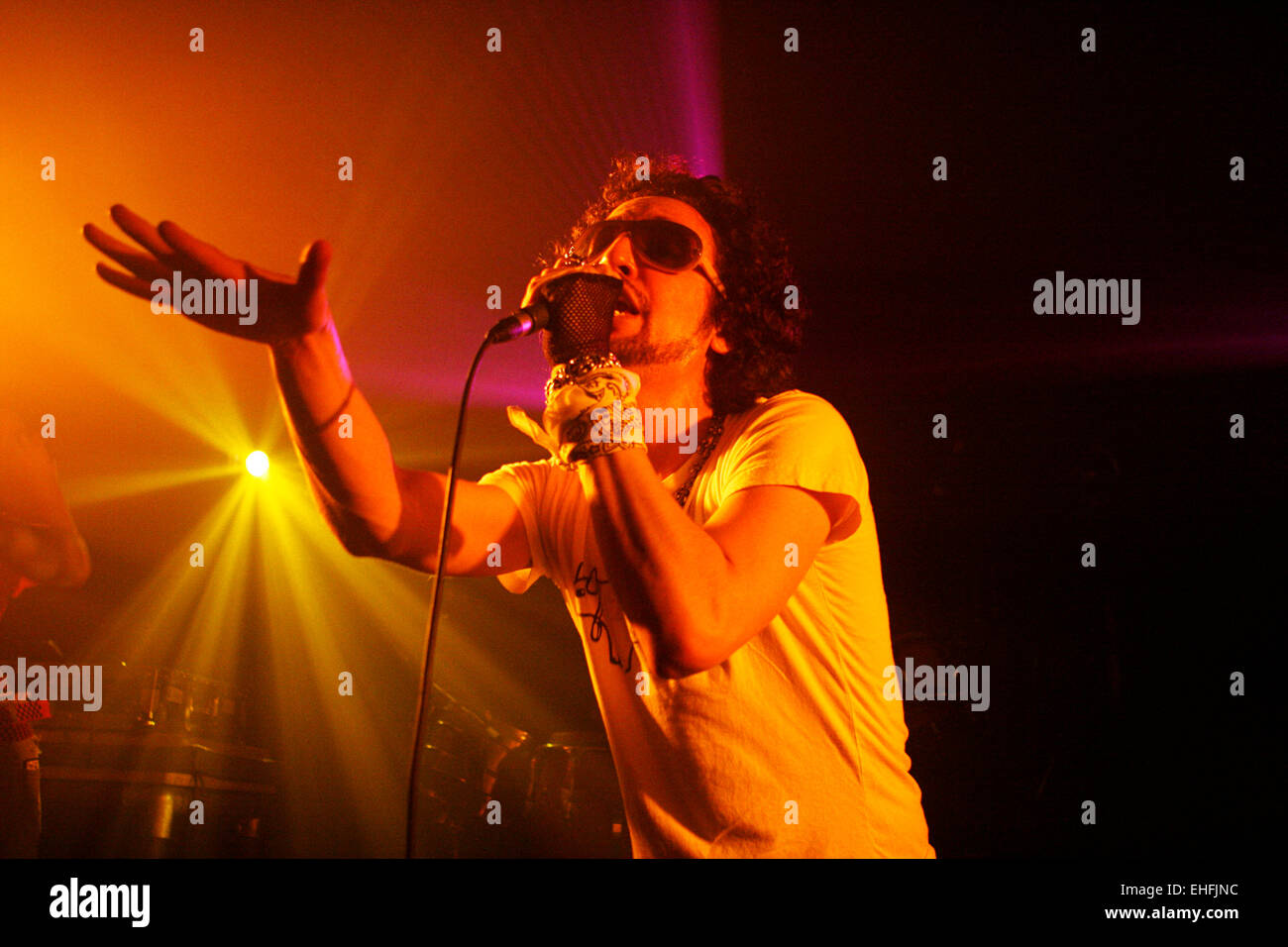 Jack Splash of Plantlife live at The Venue Edinburgh Scotland. - Stock Image