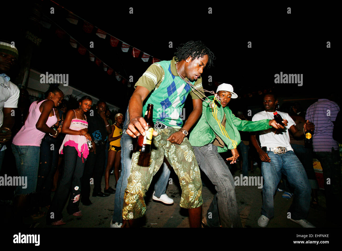 Gabba Sundays at Ravers Clavers Park Nannyville Kingston Jamaica. - Stock Image