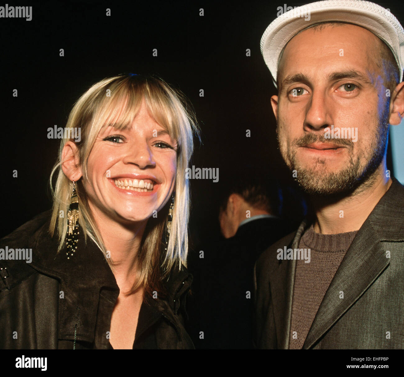 Zoe Ball & Dan Pepe - Stock Image