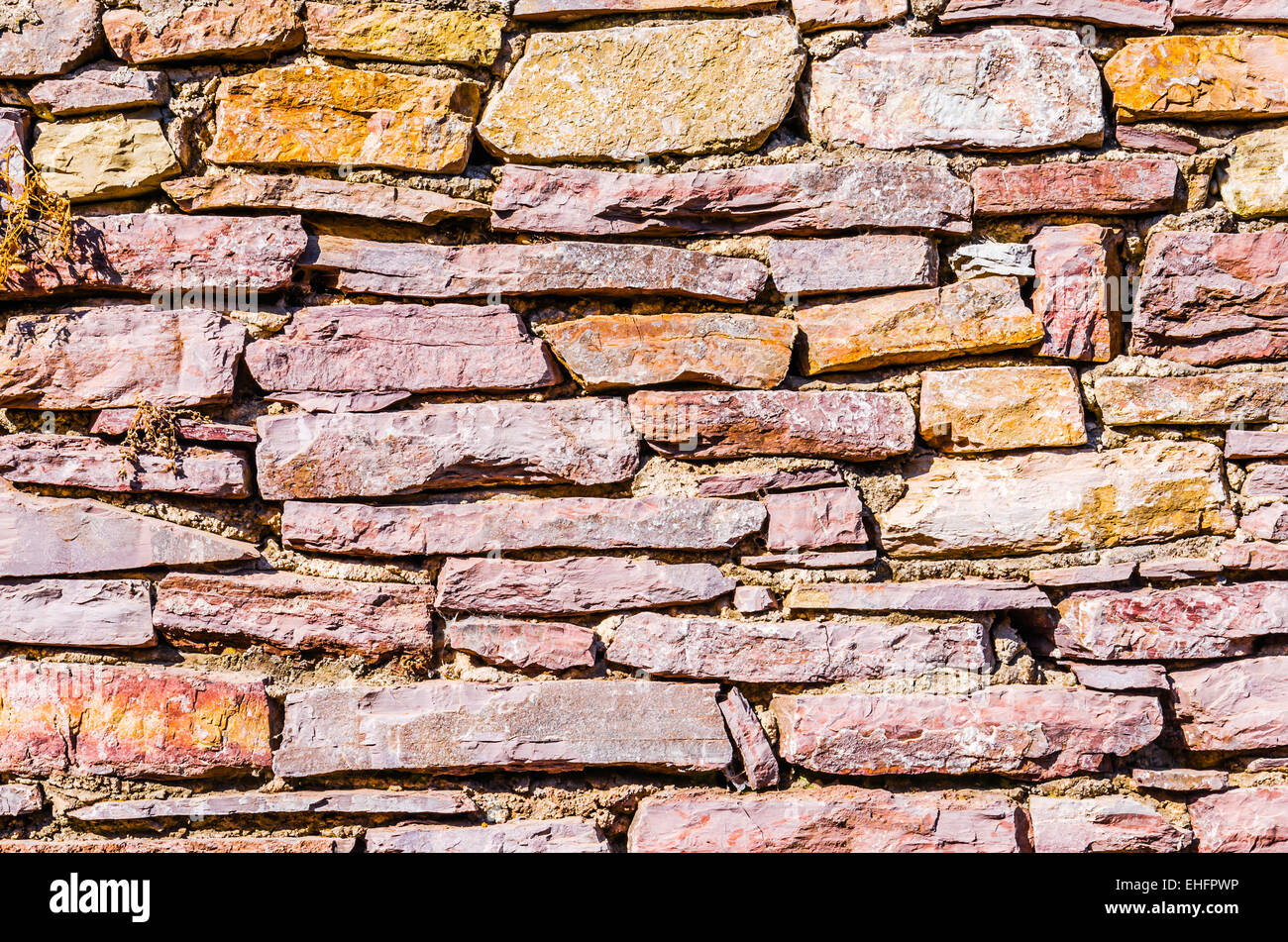 Textured wall - Stock Image