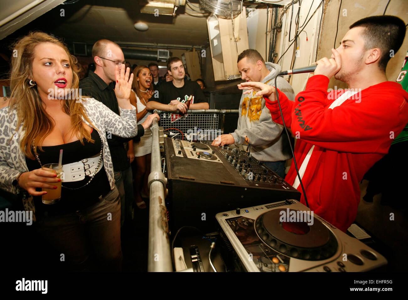 Semtex DJing at Yo Yo at Notting Hill Arts Club. - Stock Image