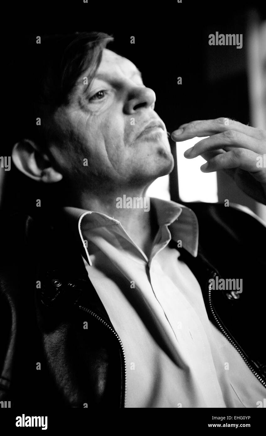 Mark E Smith of The Fall January 2007 in London. - Stock Image