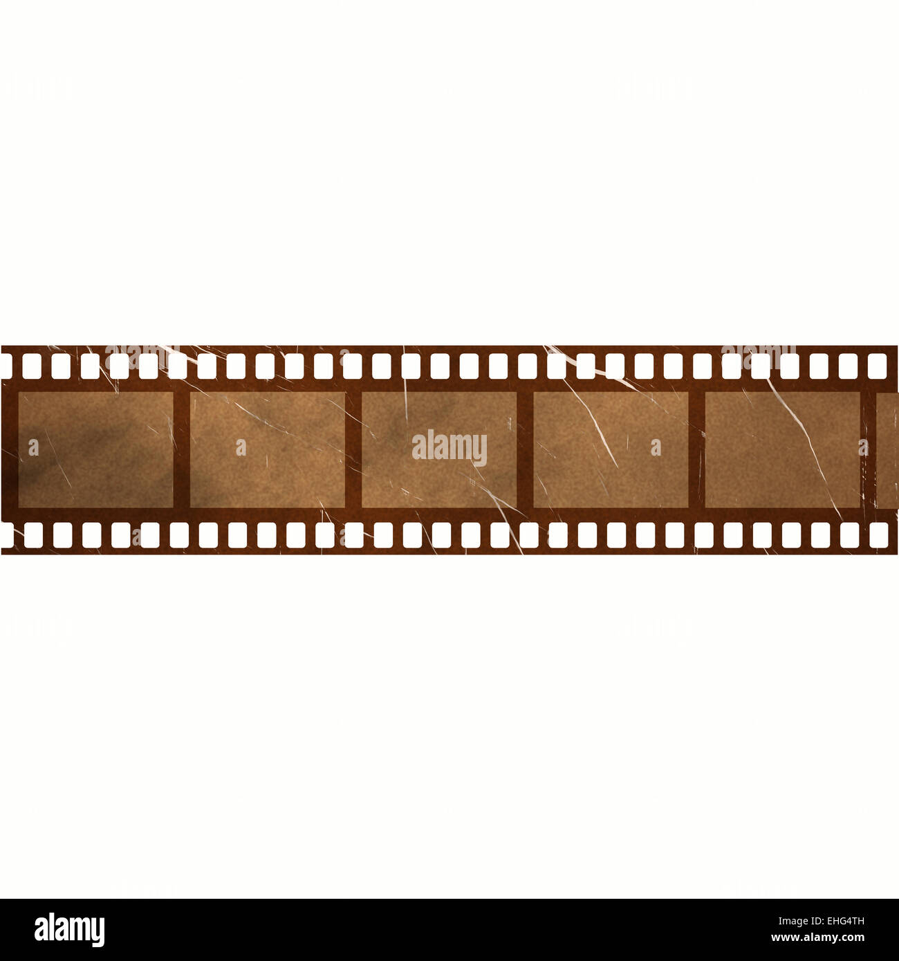 damaged film strip frames Stock Photo: 79645681 - Alamy