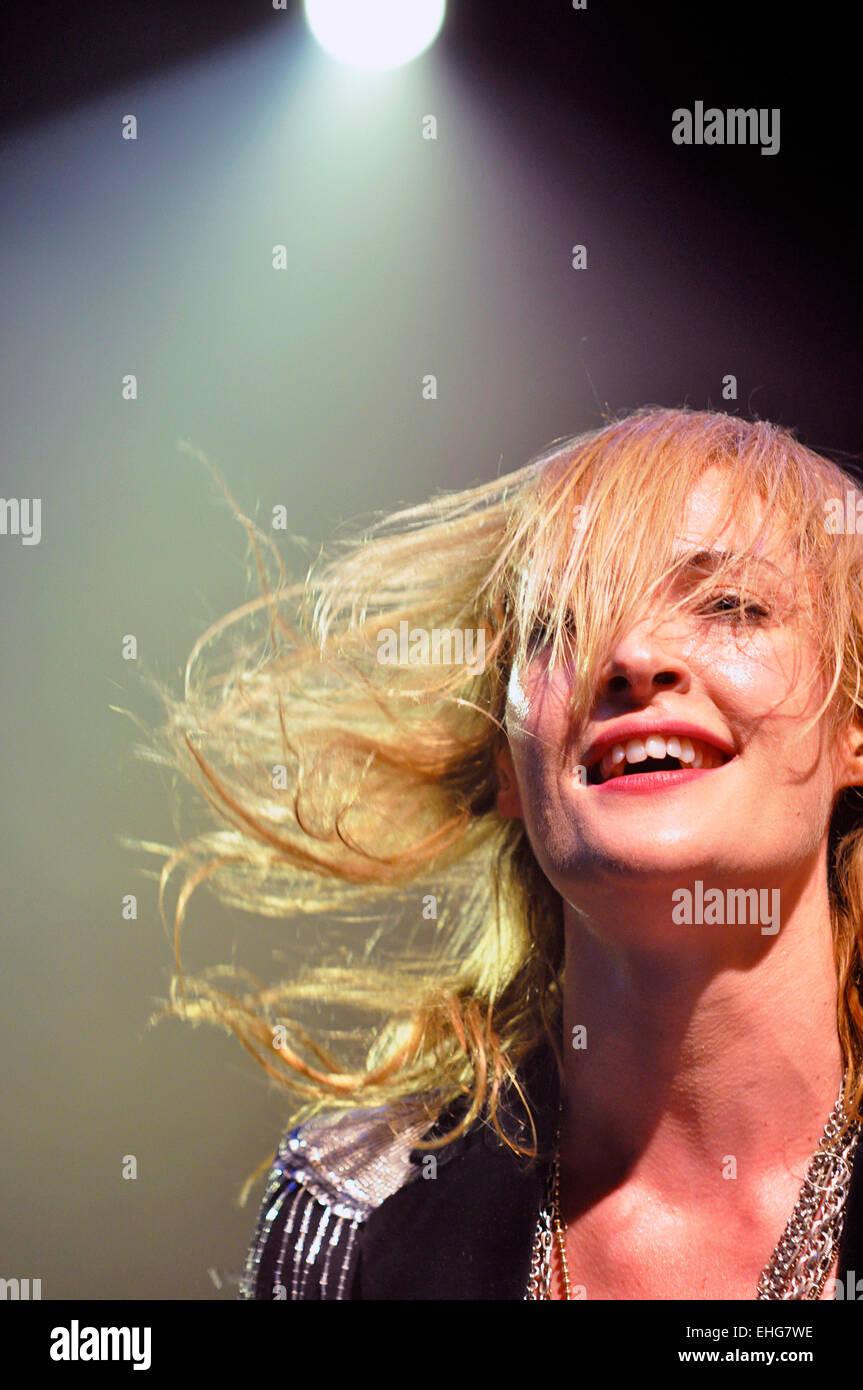 Metric live at Electric Ballroom London 19/05/09. - Stock Image