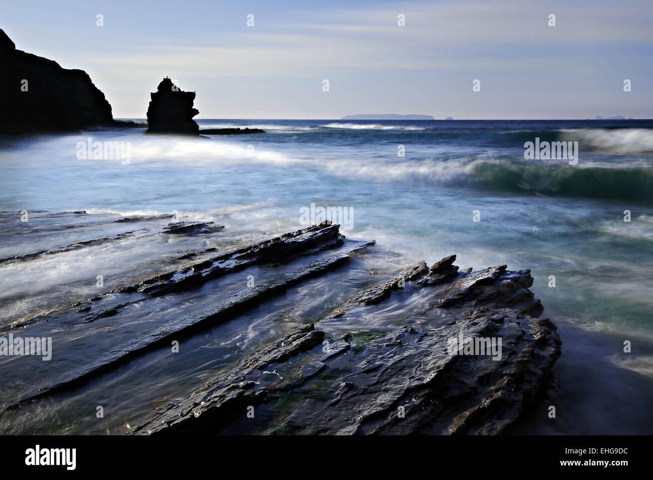 Cabo Carvoeiro, Peniche, Portugal - Stock Image