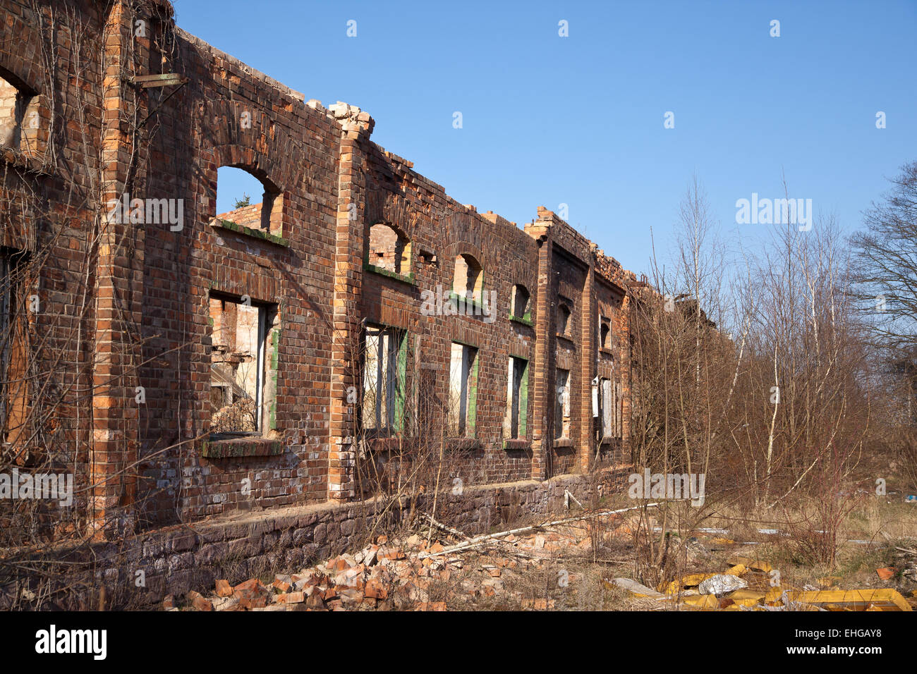 industrial monument - Stock Image