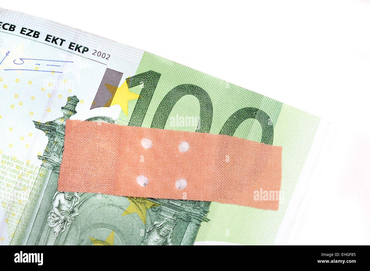 Währungsschwäche / Currency weakness - Stock Image