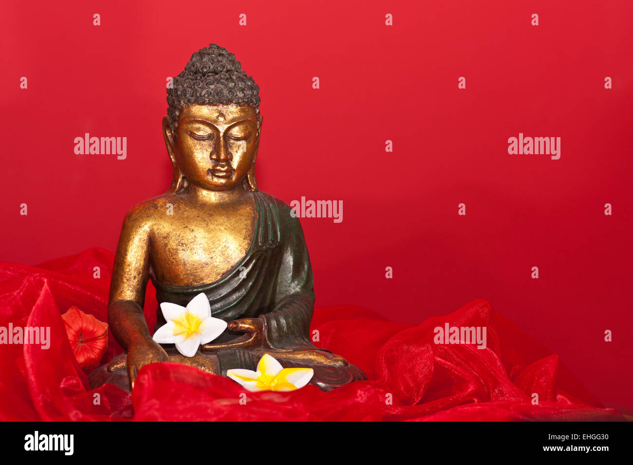 Buddha figure Stock Photo