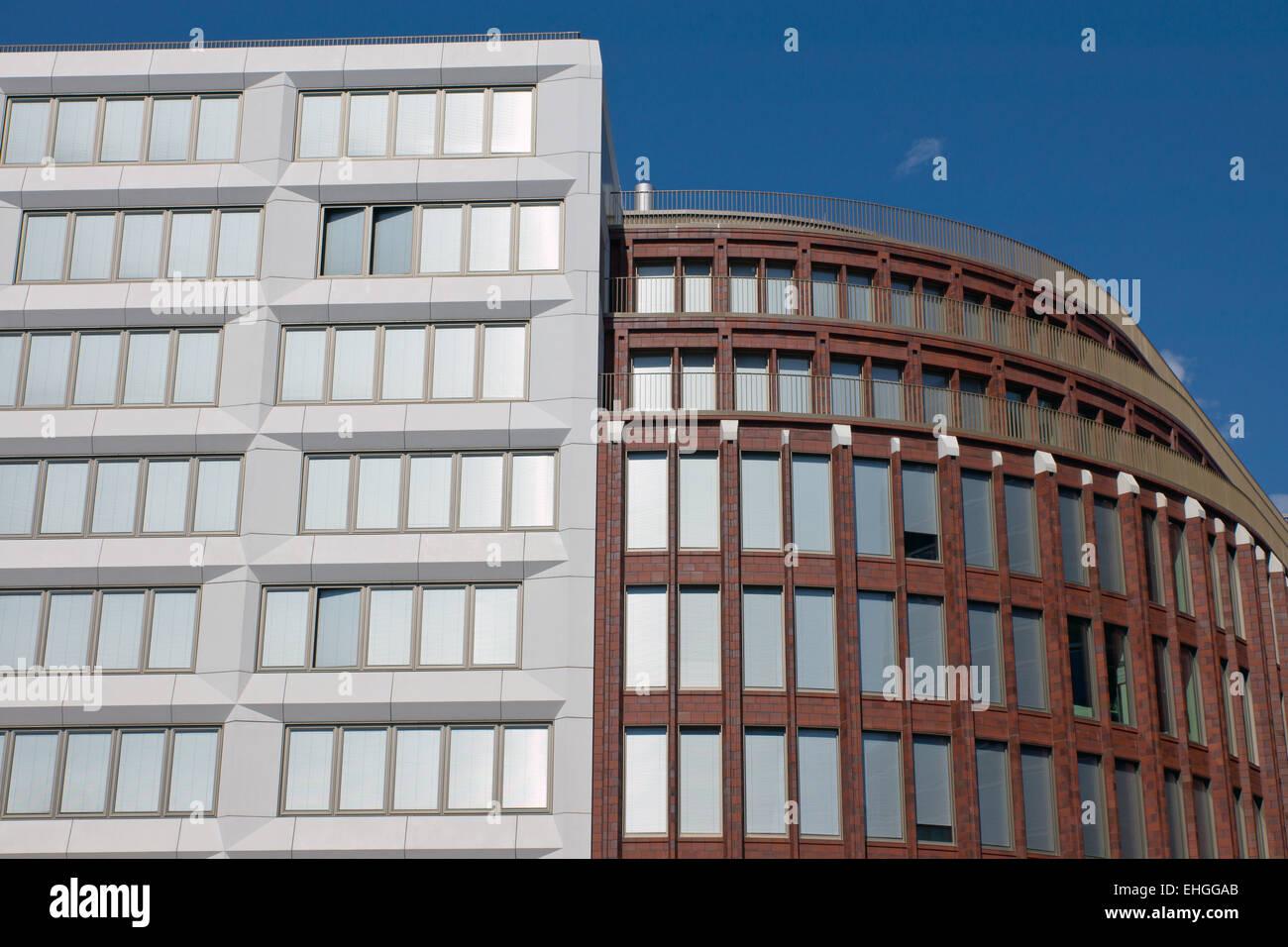 New modern buildings in Berlin Stock Photo