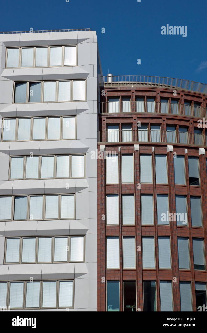 Modern office buildings in Berlin Stock Photo