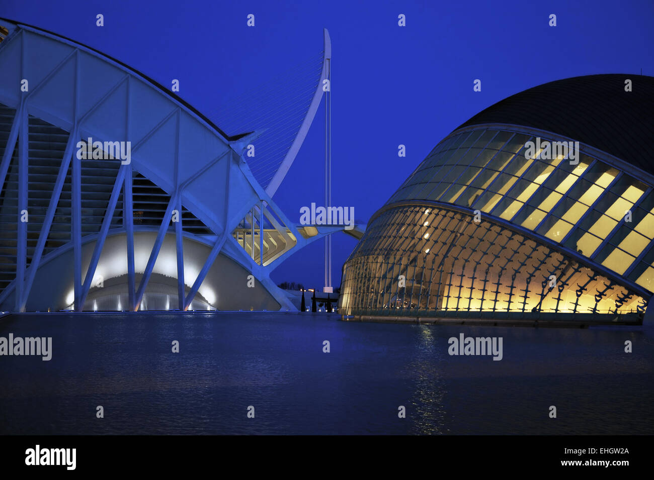 Planetarium and Science Museum Prince Felipe - Stock Image