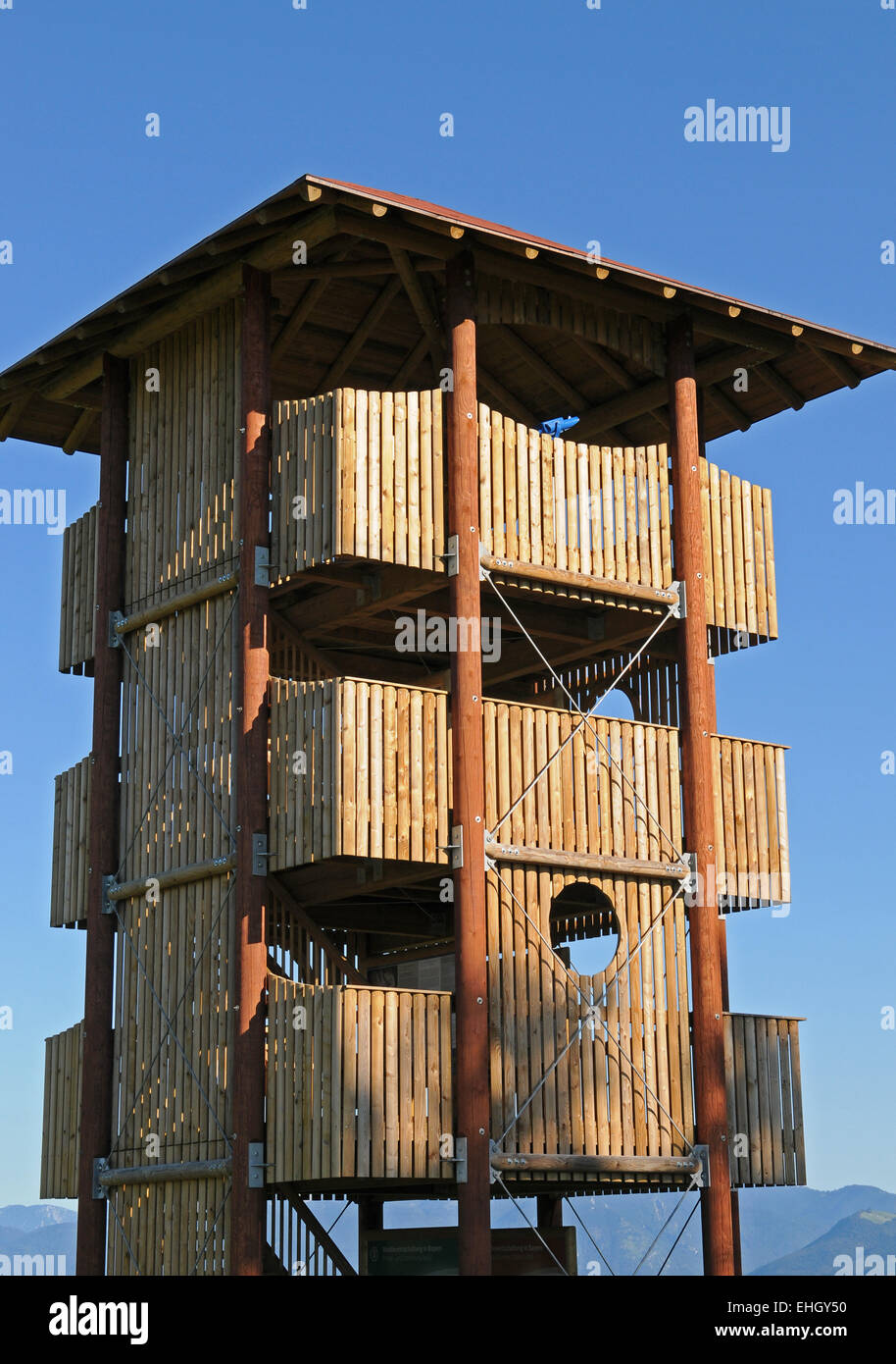 Aussichtsturm / Lookout tower - Stock Image