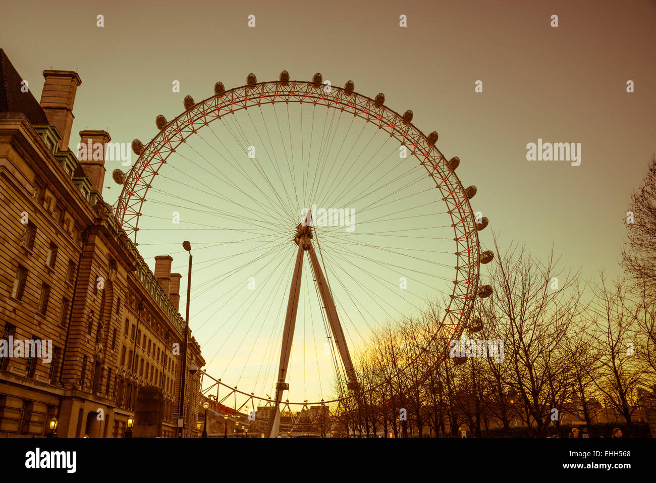 London Eye, England, Uk Stock Photo