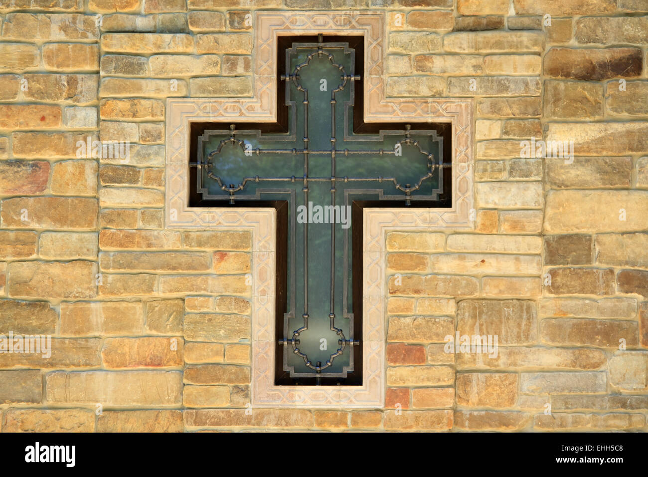 Cross On Brick Wall Stock Photos & Cross On Brick Wall Stock Images ...