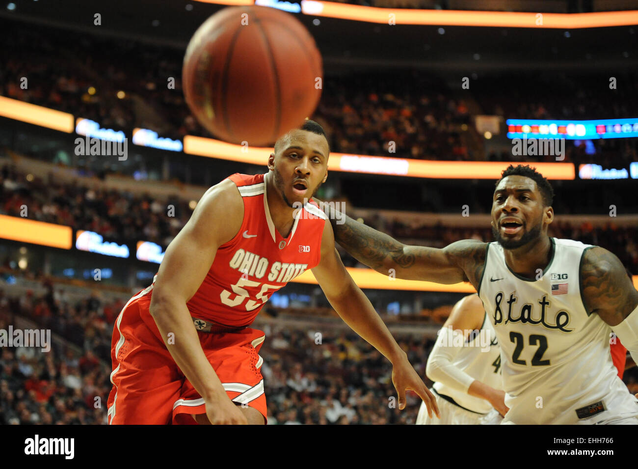 Ohio State Basketball Court 2015