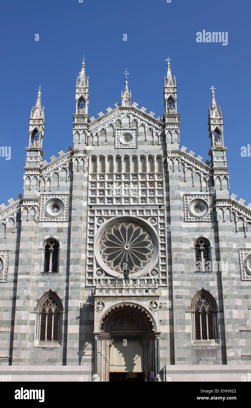 Facade Of The Gothic Cathedral Monza