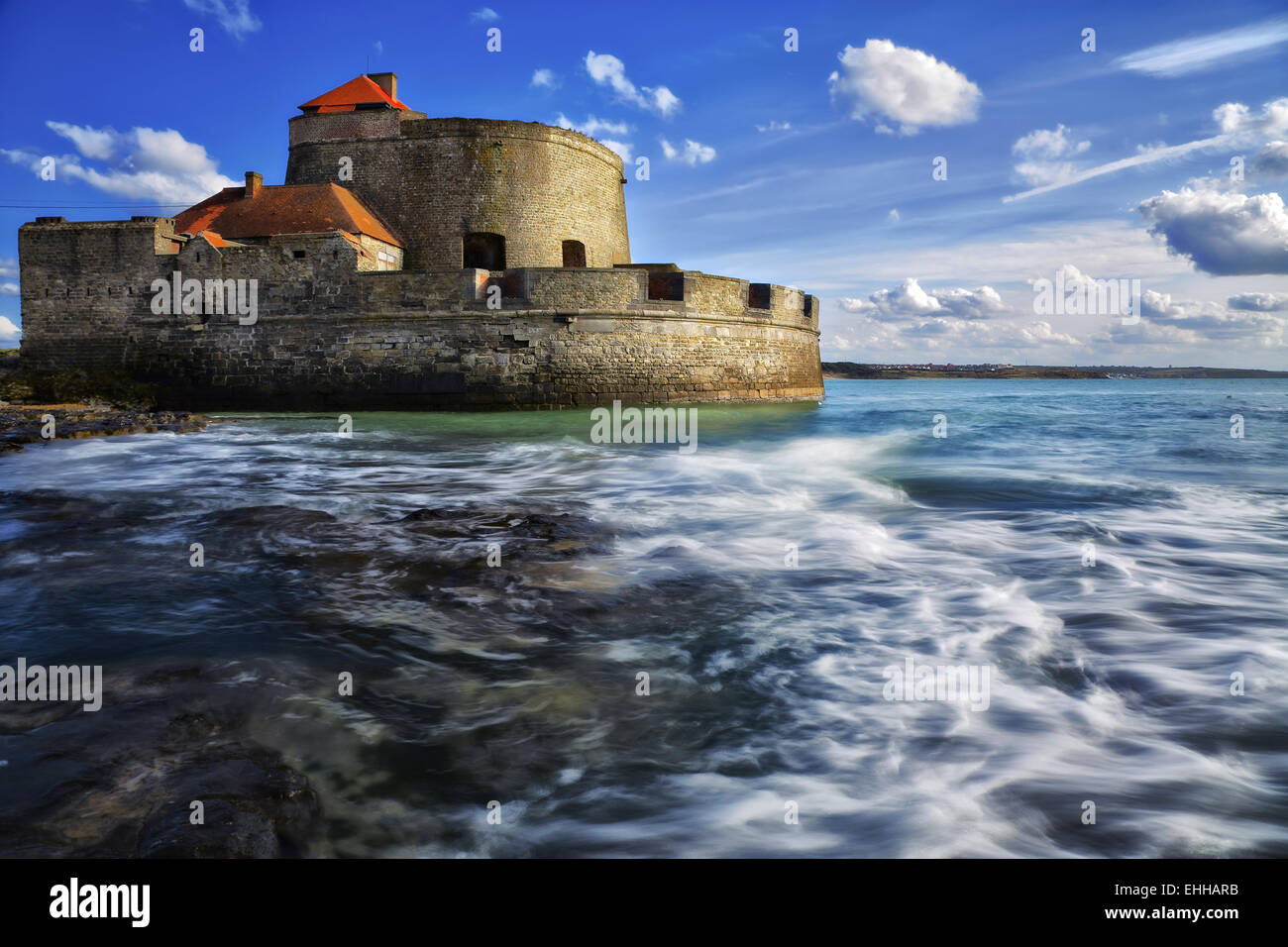 Vauban Fort Mahon, Amleteuse, France Stock Photo