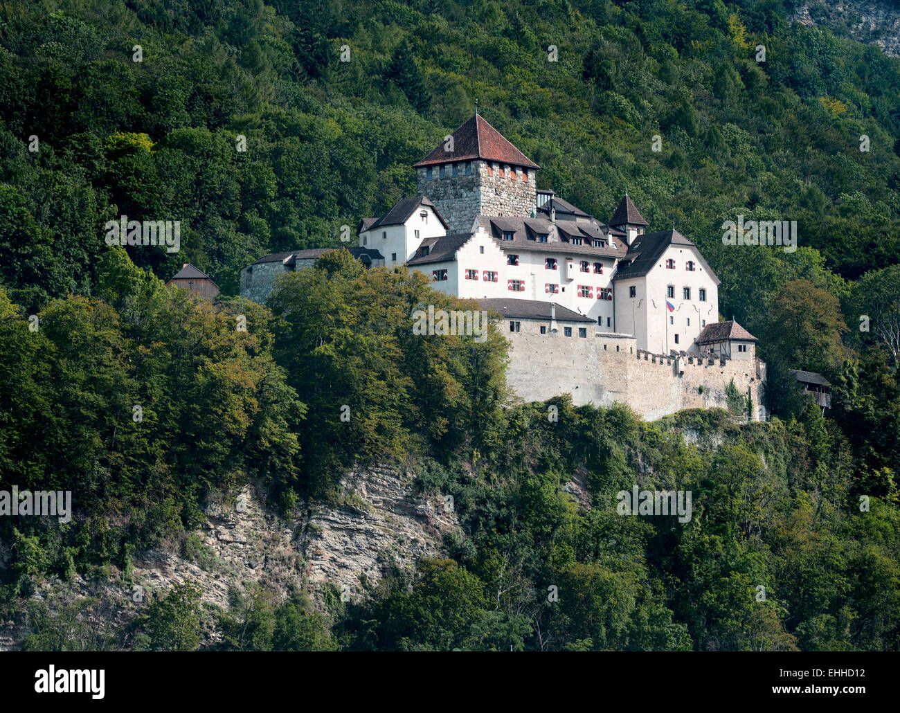 Schloss Liechtenstein / Liechtenstein Castle Stock Photo