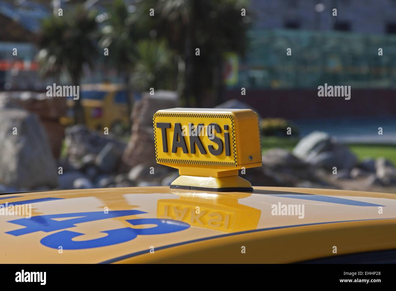 Taksi - Stock Image