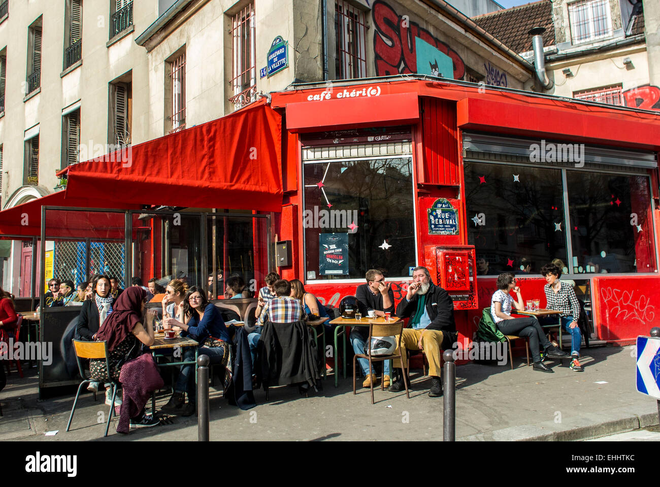 Cafe To Study In Paris