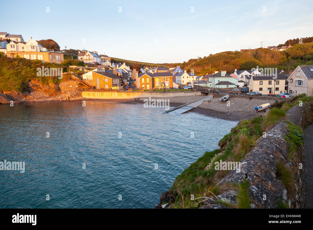 Little Haven and St Brides Bay - Stock Image