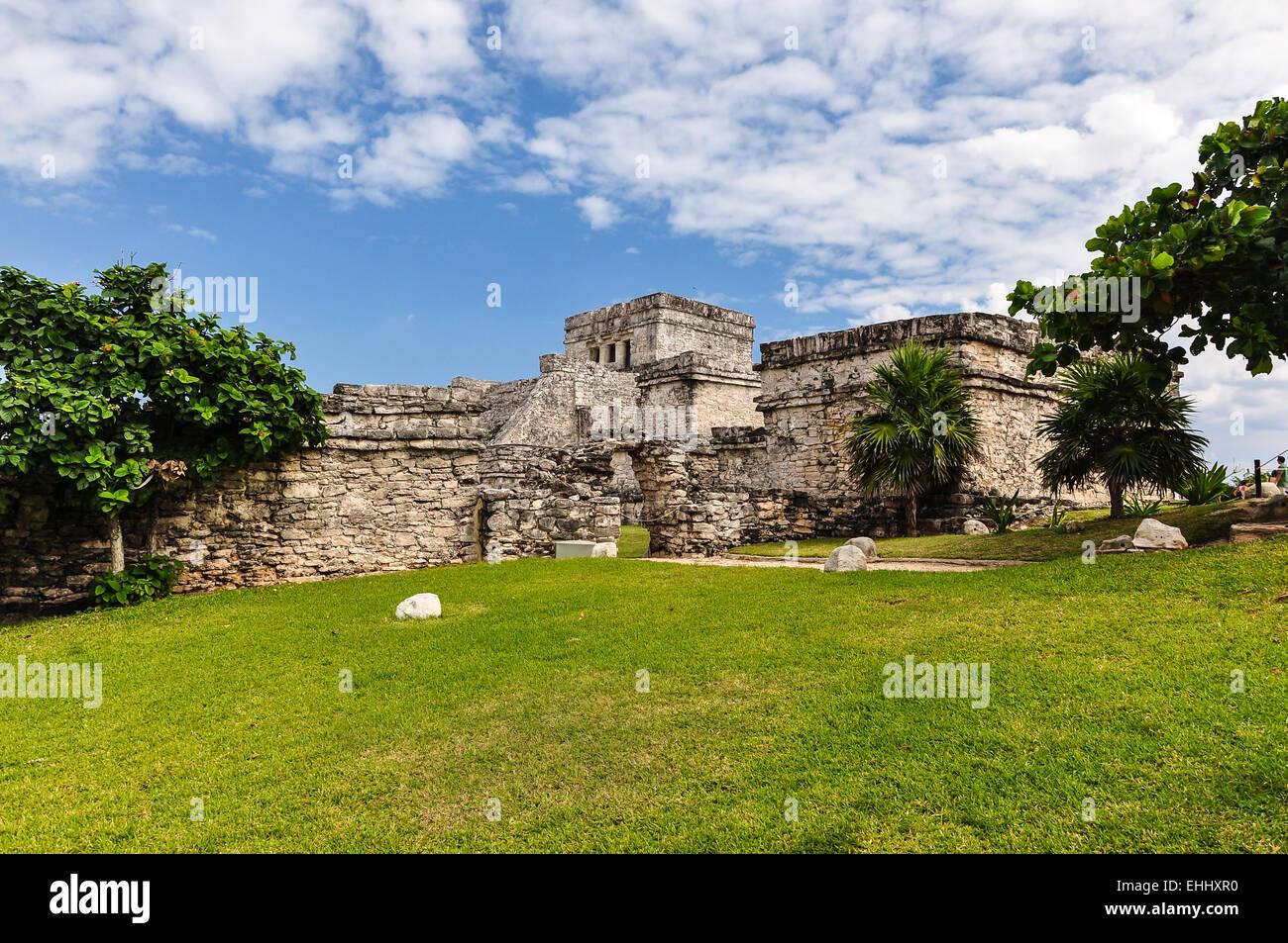Mayan Ruin - Chichen Itza Mexico Stock Photo
