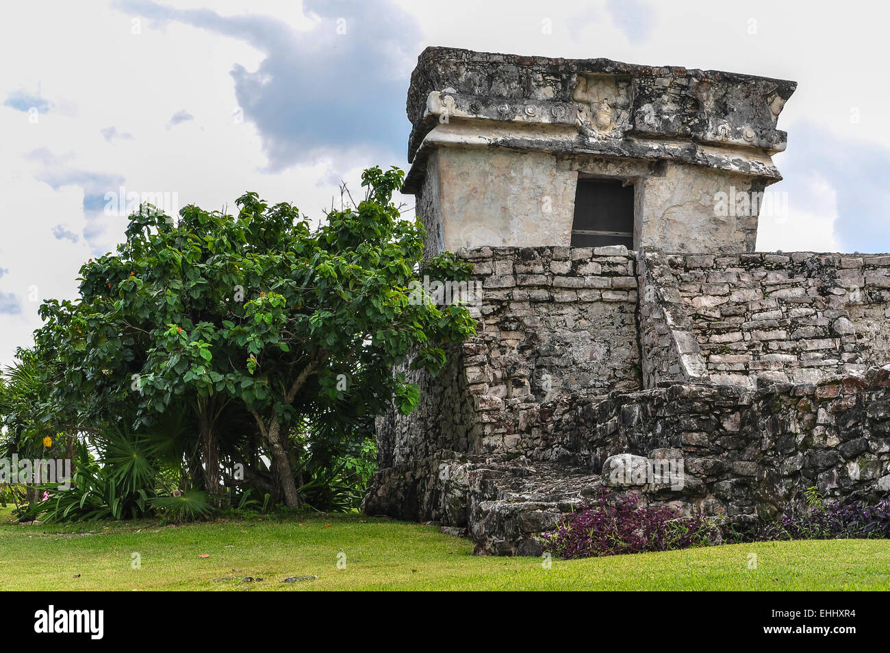 Mayan Ruin - Chichen Itza Mexico Stock Photo