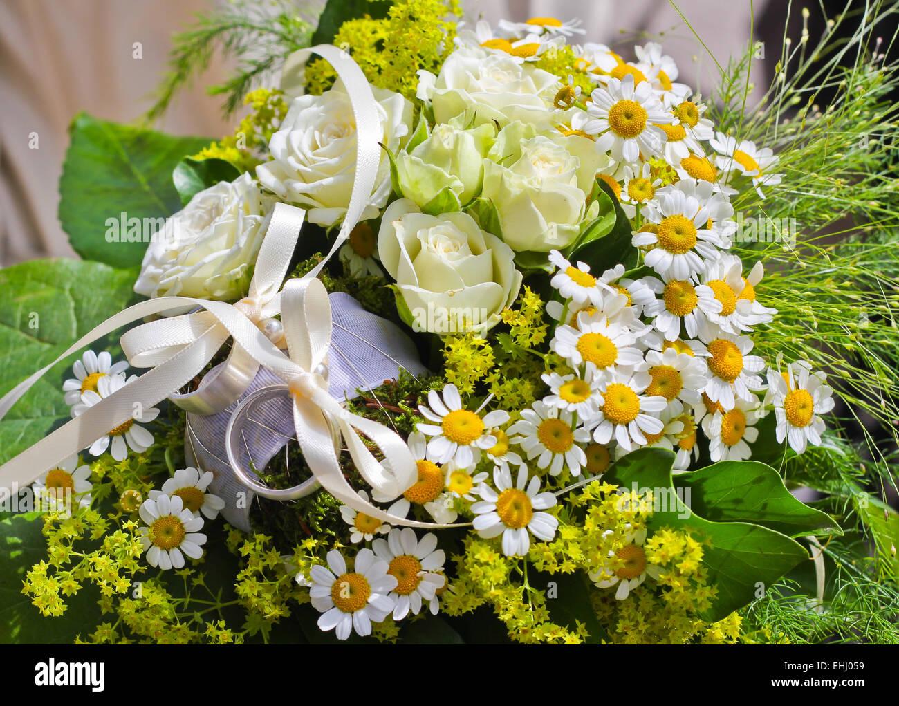 Weddingflowers - Stock Image