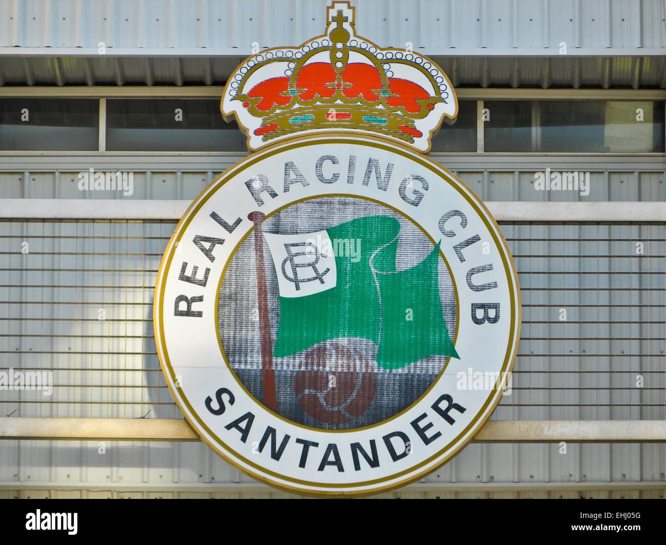 Racing Santander - Stock Image
