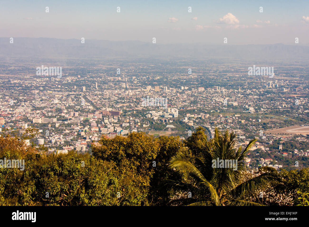 View on Chiang Mai, Thailand - Stock Image