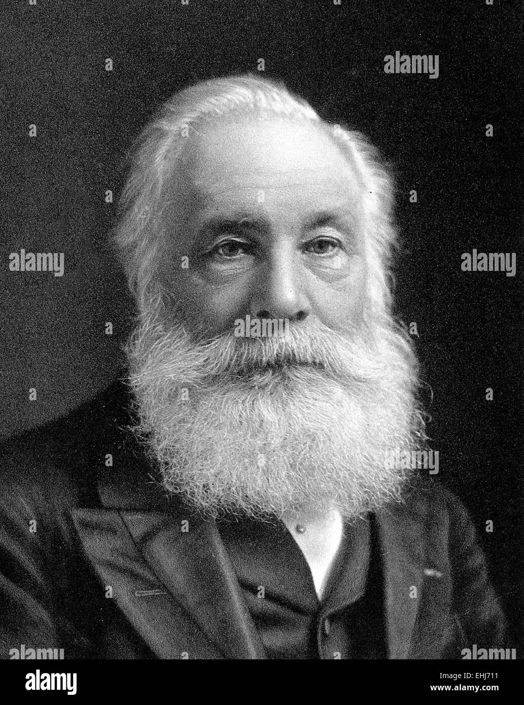 Sir William Henry Perkin English Chemist Best Known For His Accidental Discovery At The Age Of  Of The First Aniline Dye Mauveine
