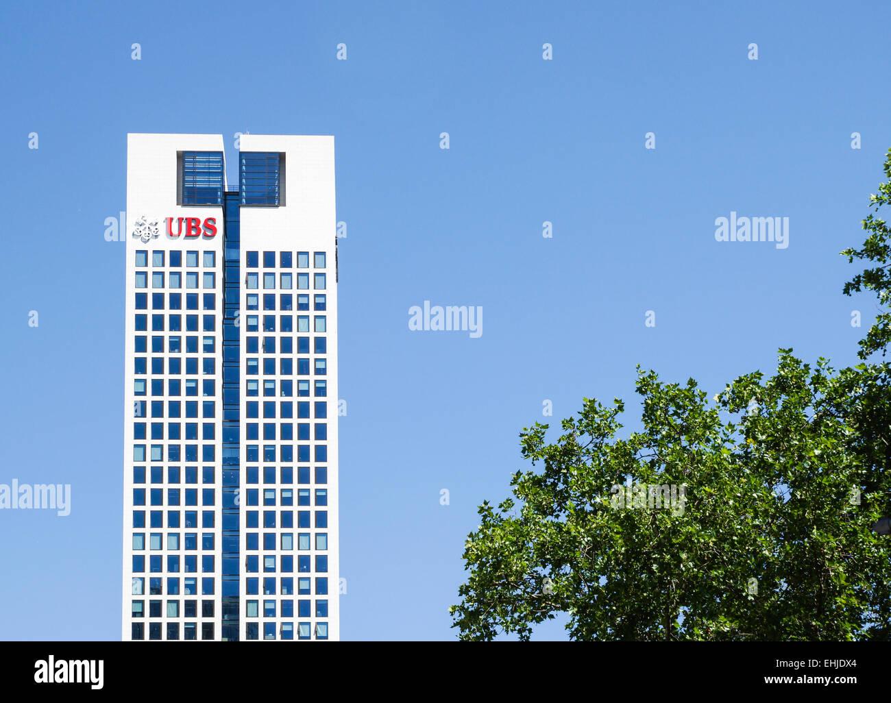 UBS-Bank - Stock Image
