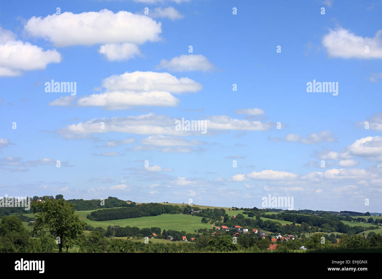 Sparsely populated - Stock Image