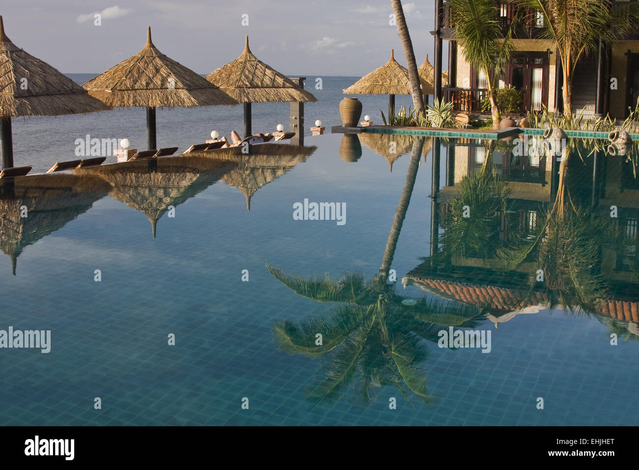 LotusVillage Resort,Mui NeVietam,asia Stock Photo