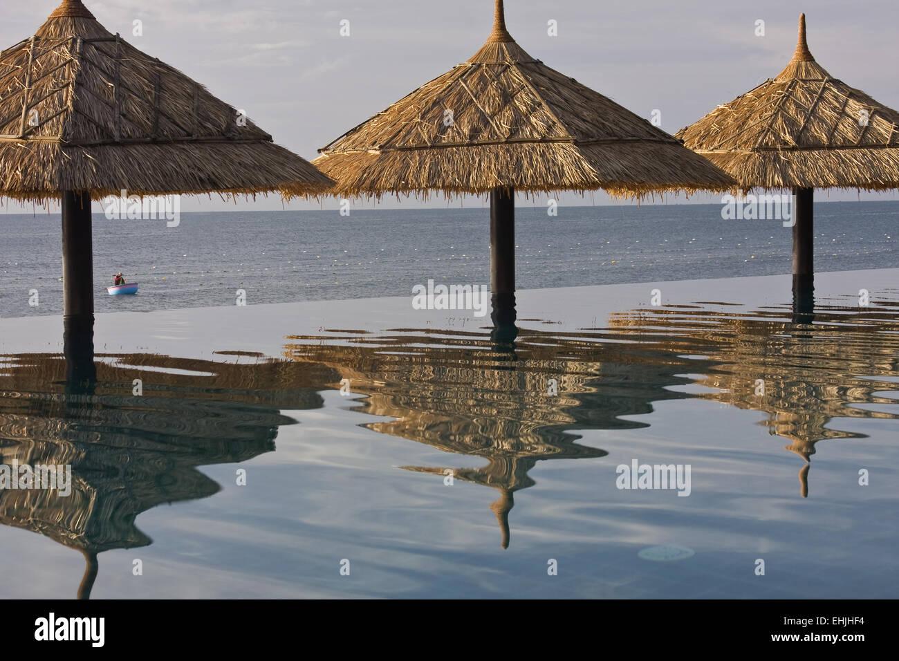 LotusVillage Resort,Mui NeVietam,asia Stock Photo