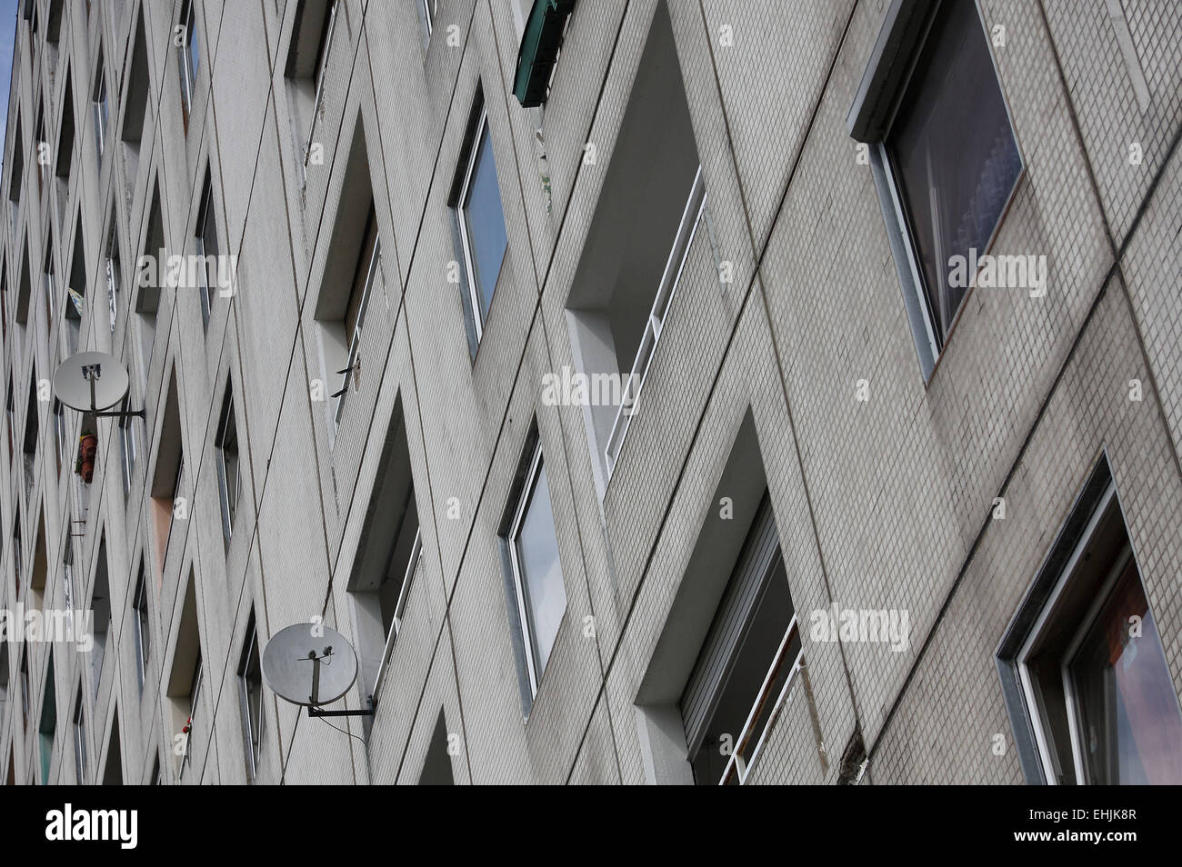 Council housing - Stock Image