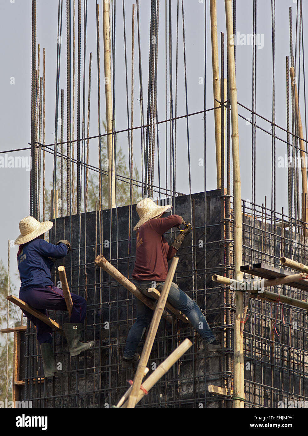 Female Construction workers - Stock Image