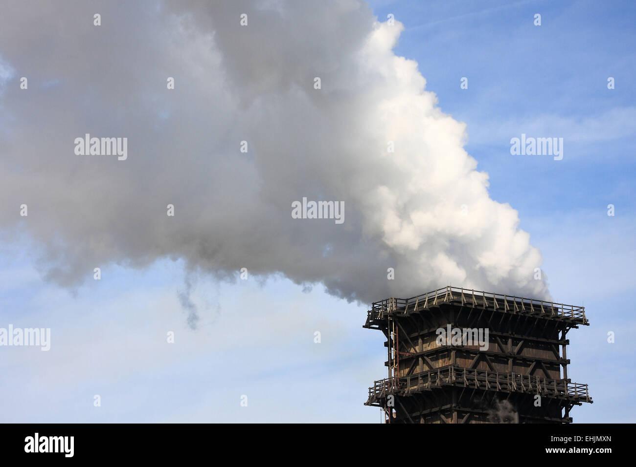 Emission - Stock Image