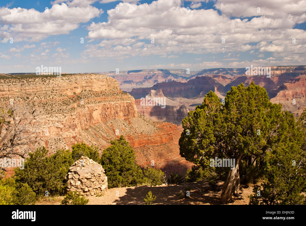 Grandeur of the Grand Canyon - Stock Image