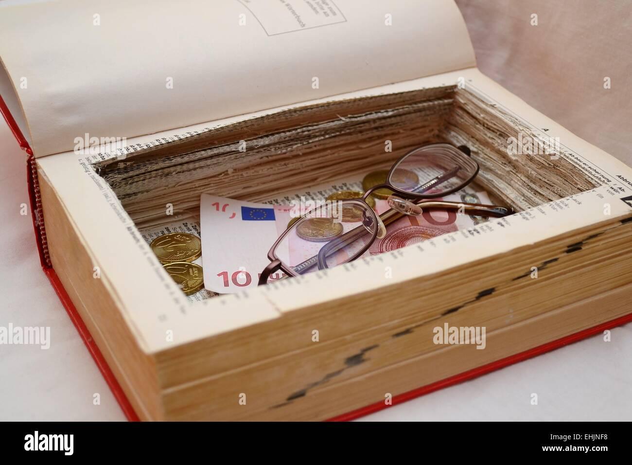 book safe Stock Photo