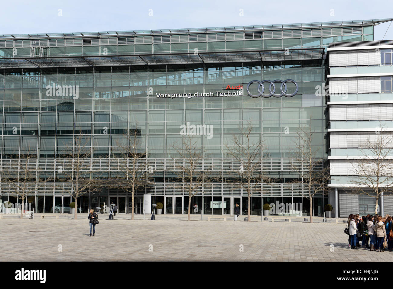 Audi Ingolstadt - Stock Image