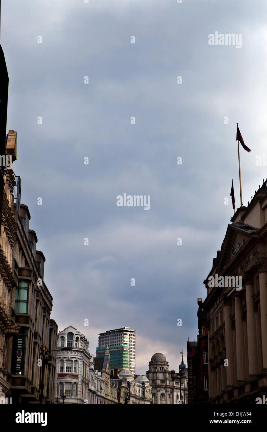 Shaftesbury Avenue, London - Stock Image