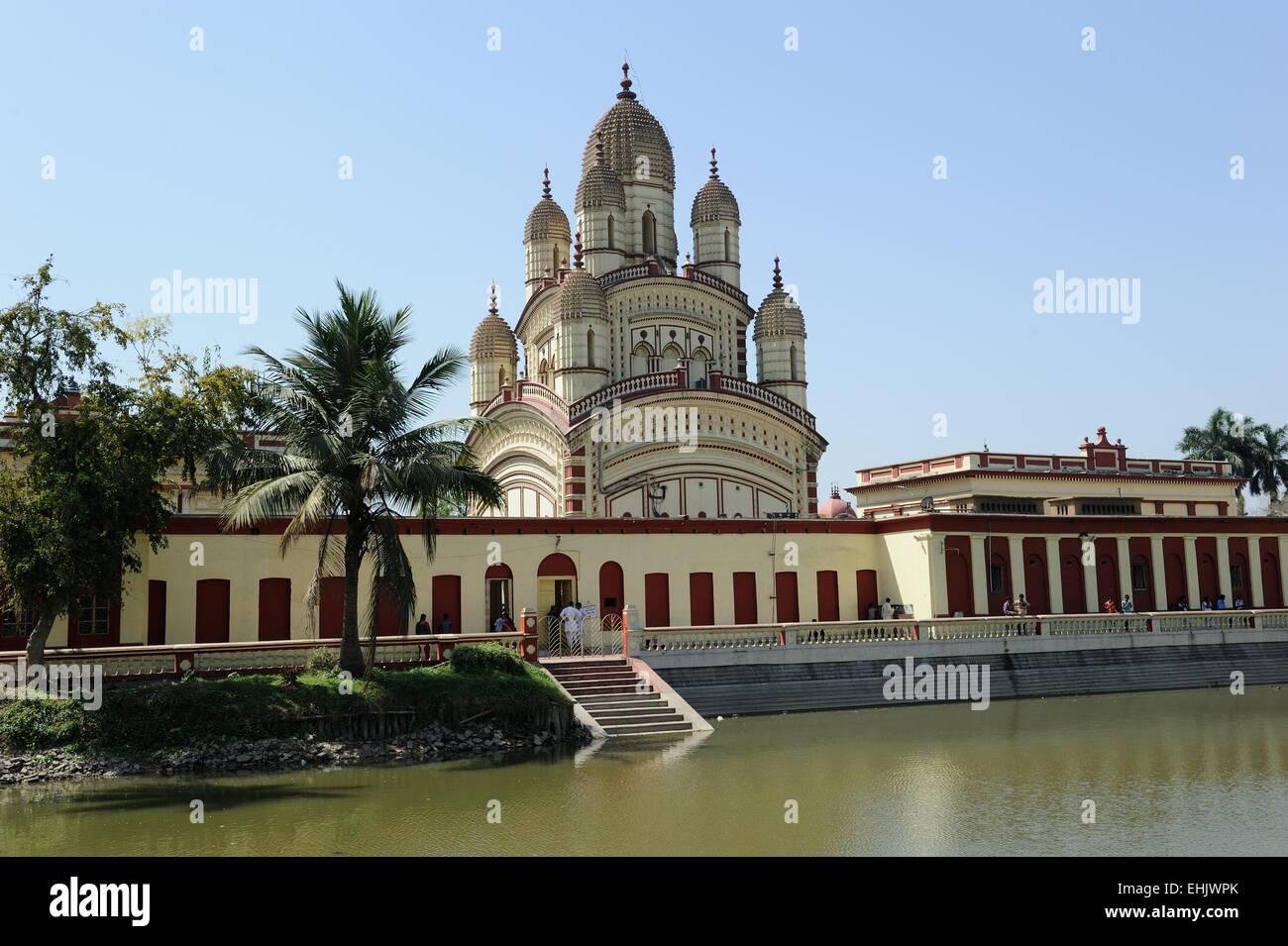 Temple in Kolkata - Stock Image