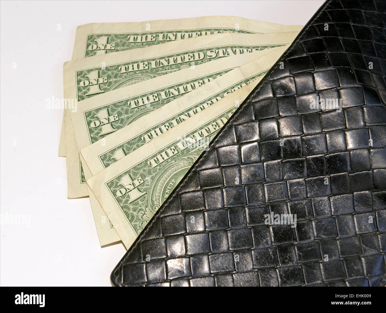 US dollar bills currency - Stock Image