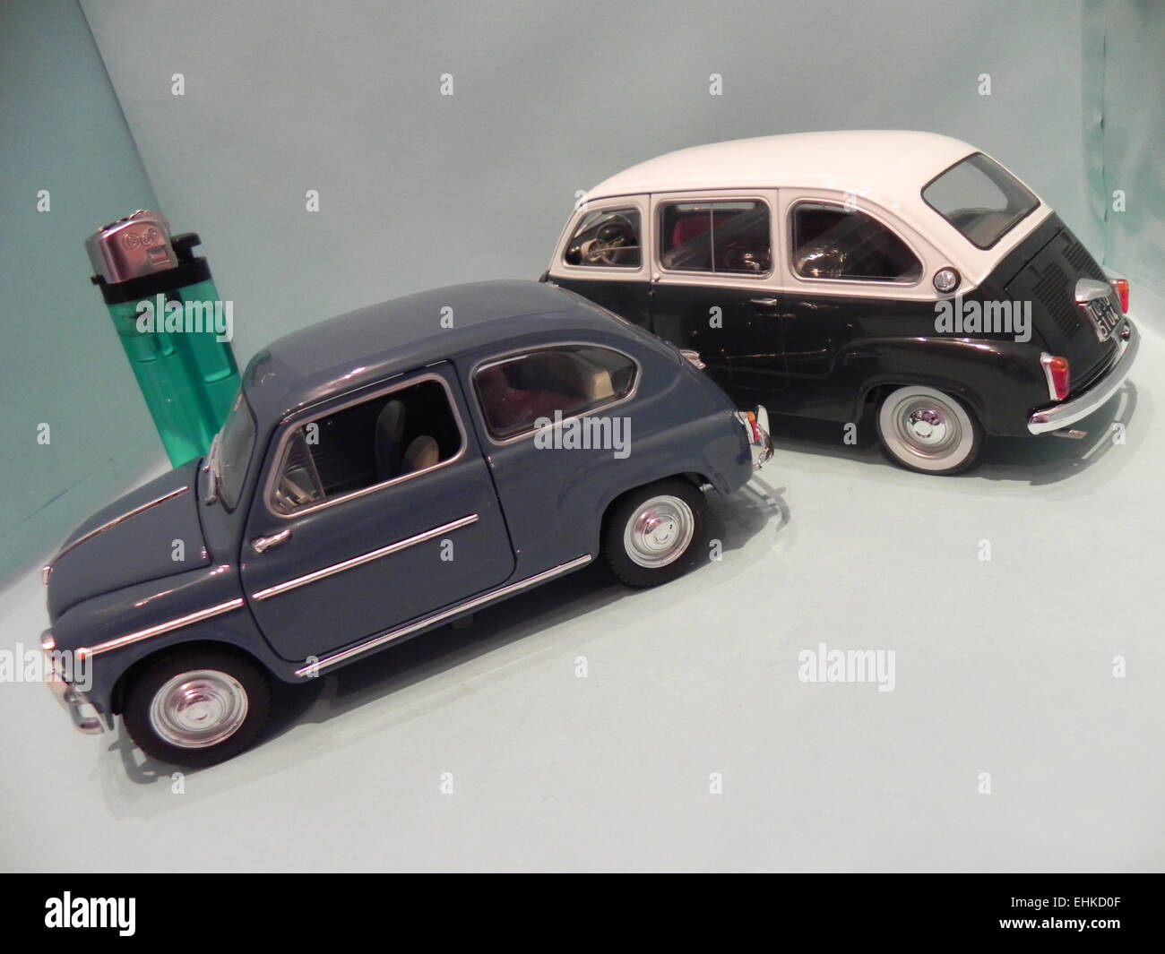 Fiat 600 Multipla Stock Photos & Fiat 600 Multipla Stock ...