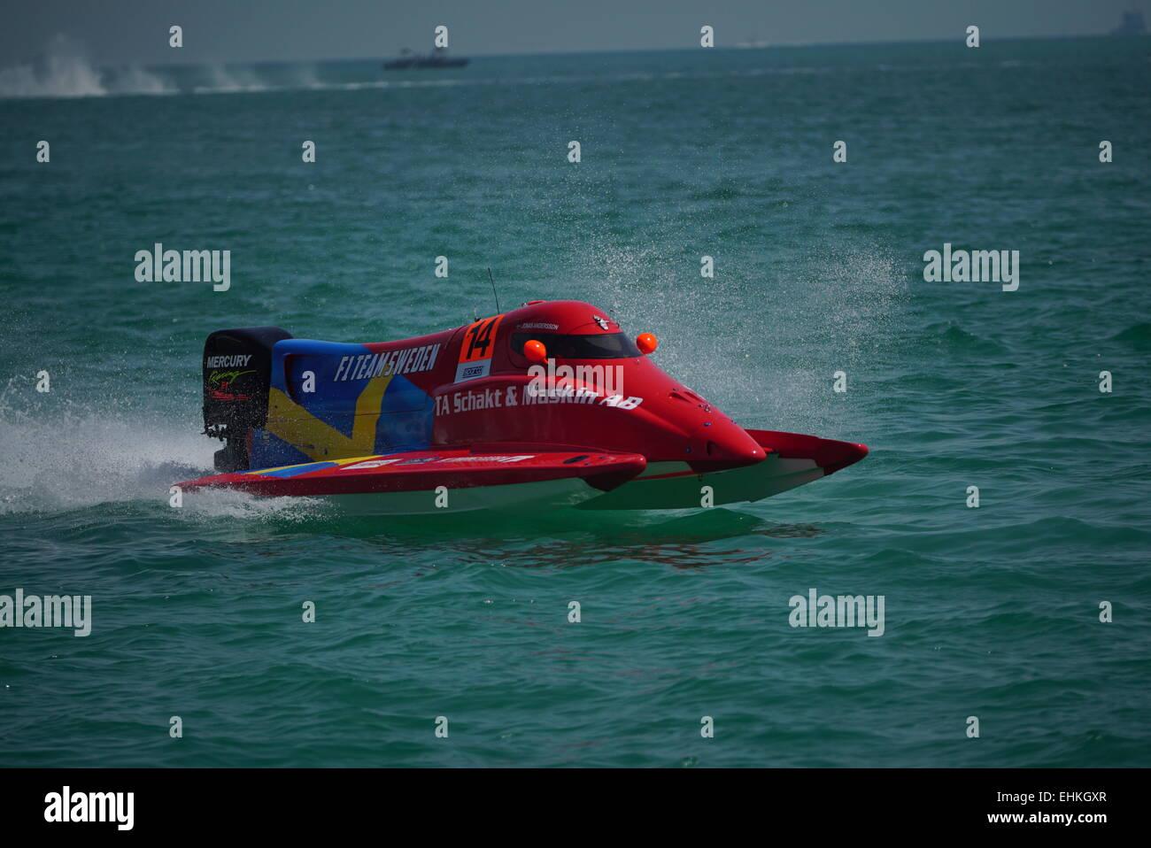 F1H2O UIM Grand Prix of Qatar - Stock Image