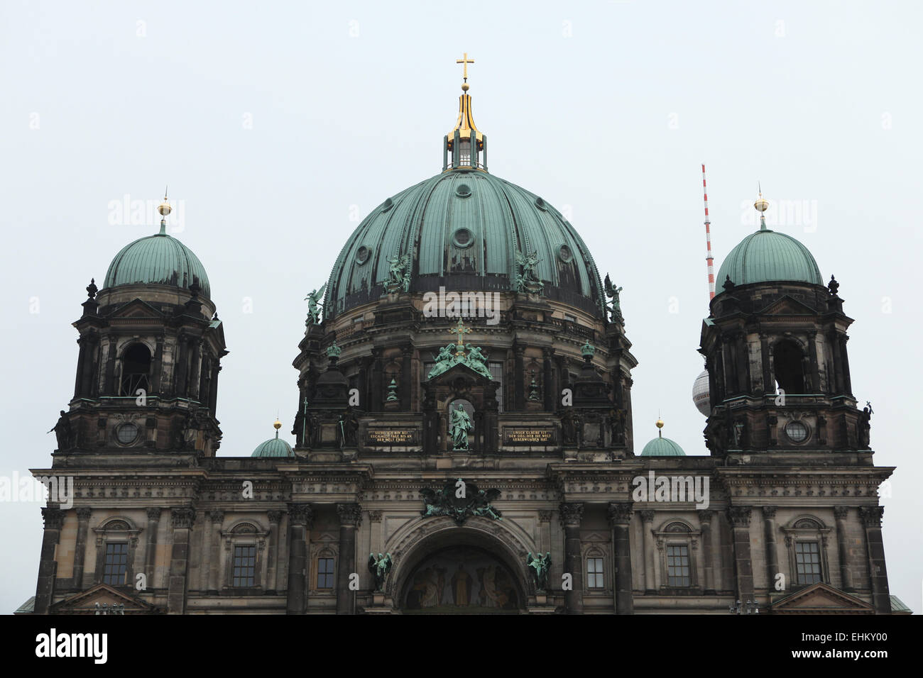 Berlin Cathedral (Berliner Dom) at the Museum Island in Berlin, Germany. - Stock Image