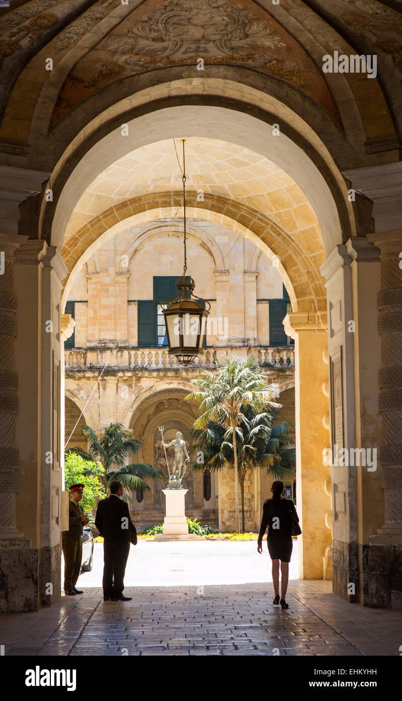 Malta, Valletta - Stock Image